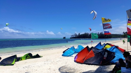Kiting in Boracay