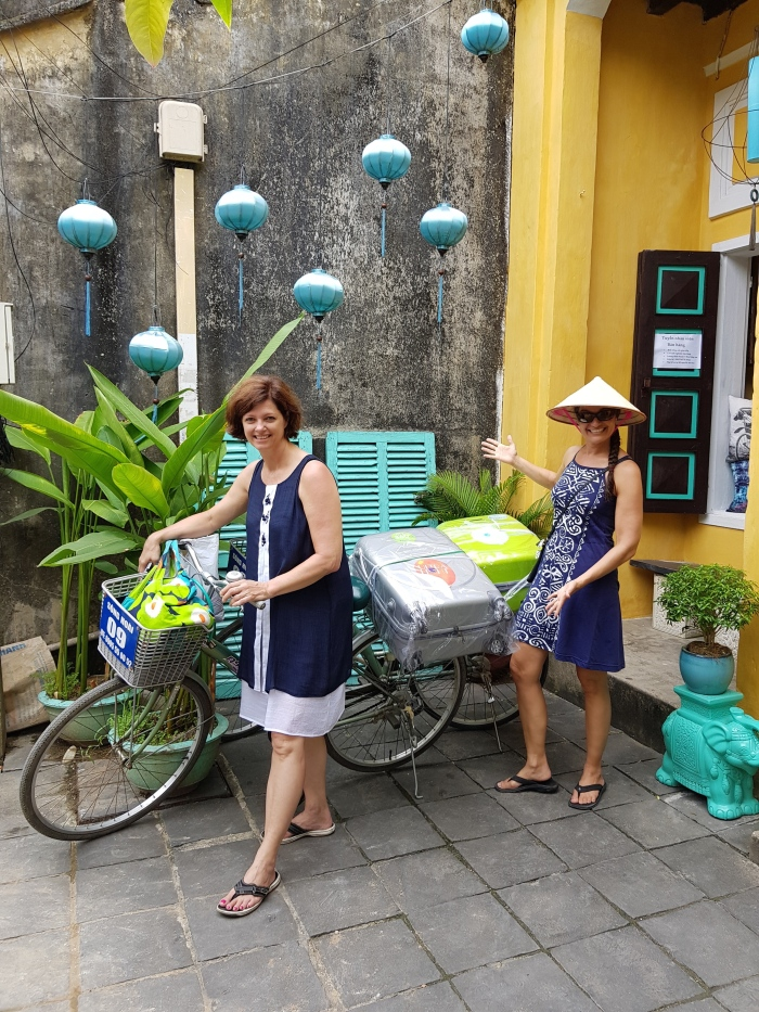 Biking through Hoi An